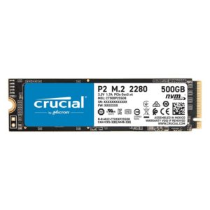 Crucial P2 500GB 3D PCIE NVME M.2 SSD