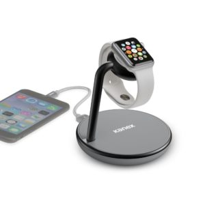Kanex GoPower Stand with Wireless QI Charging Base for Apple Watch and Iphone