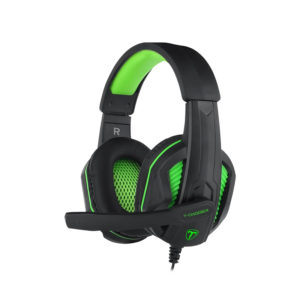 T-Dagger Cook 3.5mm Gaming Headset - Black/Green