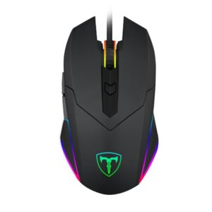 T-Dagger Lance Corporal 3200DPI 5 Button|180cm Cable|Ambi-Design|RGB Backlit Gaming Mouse - Black