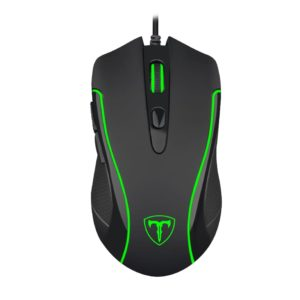 T-Dagger Private 3200DPI 6 Button|180cm Cable|Ergo-Design|RGB Backlit Gaming Mouse - Black
