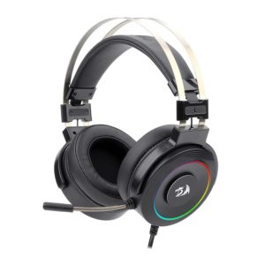 Redragon Lamia 2 USB | Virtual 7.1 | 3D Sound Effect | RGB | USB | PC/PS3/PS4 | Stand Included Gaming Headset - Black